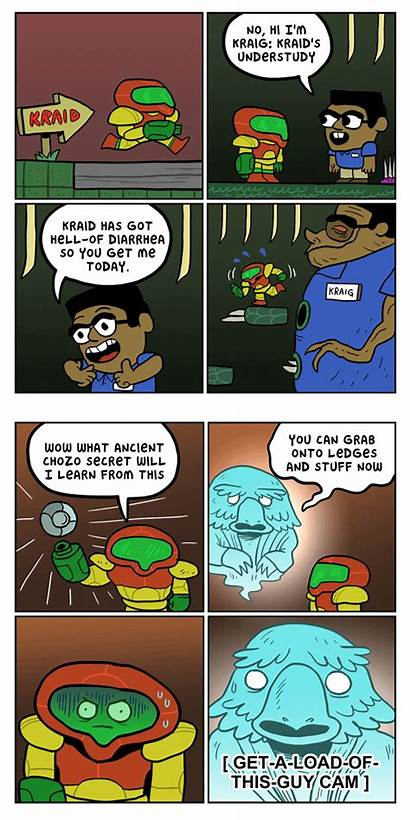 Metroid Cheats Comix Comics Comic Kc Usgamer