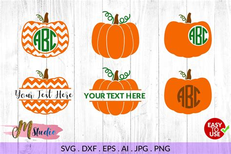 Welcome to the silhouette design store, your source for craft machine cut files, fonts, svgs, and other digital content for use with the silhouette cameo® and other electronic cutting machines. Pumpkin Monogram svg, for Silhouette Cameo or Cricut ...