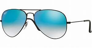 Ray-ban Ombre-mirrored Aviator Sunglasses in Blue for Men ...