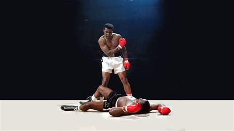 Muhammad Ali Vs. Sonny Liston Full Hd Wallpaper And