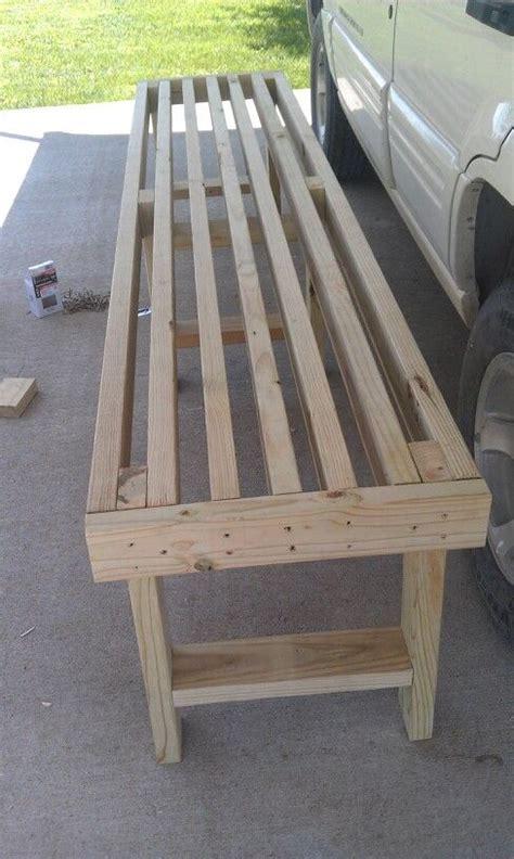 easy   bench  ive  pinterest picnics