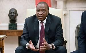 Donald Trump hosts Kenyan President Uhuru Kenyatta & First ...