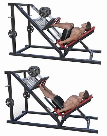 Leg Press Machines Workout Exercises Legs Fitness