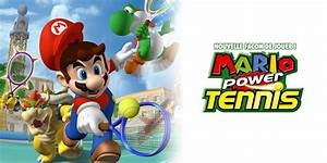 Mario Power Tennis NOUVELLE FAON DE JOUER Wii Jeux
