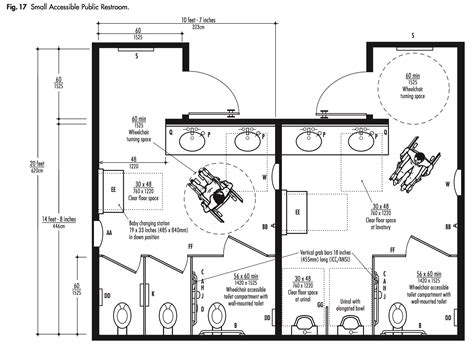 Bobrick Bathroom Layout