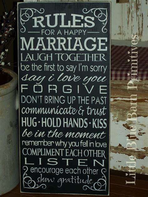 Rules For A Happy Marriage Wooden Sign · Little Blue Barn. Mum Logo. Zen Murals. Half Circle Banners. Childrens Bedroom Murals. Leprosy Signs Of Stroke. Birthday Banner Size. Glass Door Murals. Three Proud Person Murals