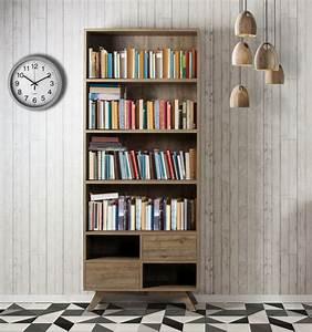 Bibliothèque Design Bois : biblioth que design scandinave brin d 39 ouest ~ Teatrodelosmanantiales.com Idées de Décoration