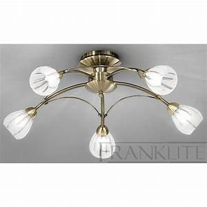 Ceiling lights went out : Chloris bronze light flush ceiling