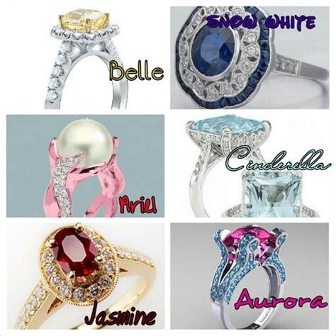 princess engagement rings i love the cinderella and