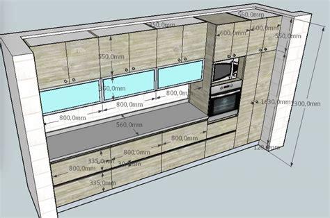 maravilloso medidas estandar de muebles de cocina
