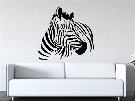Wandtattoo Zebra Kinderzimmer by Wandtattoo Zebra Afrika Wandtattoos De
