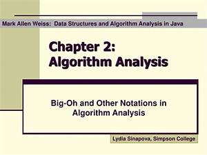 Ppt, -, Chapter, 2, Algorithm, Analysis, Powerpoint, Presentation, Free, Download