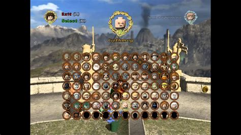 Lego Lord Of The Rings All Playable Characters Unlocked