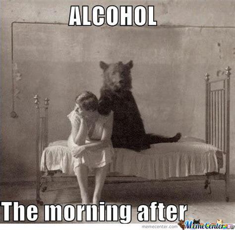 Morning After Meme - funny bartending pics get a bartending job