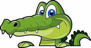 Swamp alligator cartoon clipart image clipartix - Clipartix