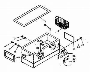 Kenmore 618130 Chest Freezer Parts