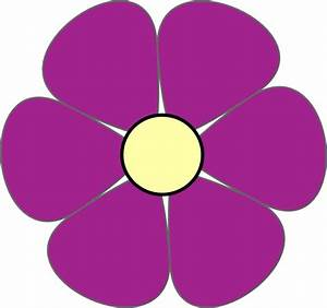 Purple Flower Clip Art Pictures to Pin on Pinterest ...