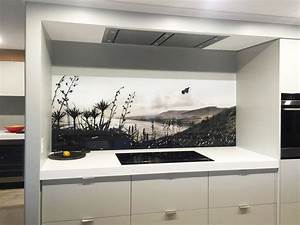 splashback examples printed 39images on glass39 kitchen With kitchen colors with white cabinets with birds in flight wall art