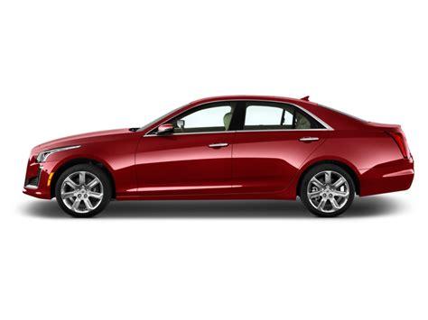 2016 Cadillac Cts 4-door Sedan 2.0l Turbo Rwd Side