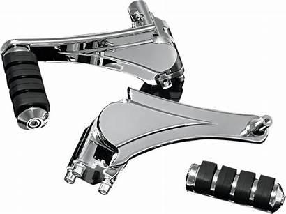 Harley Adjustable Mounts Chrome Footpeg Kuryakyn Passanger