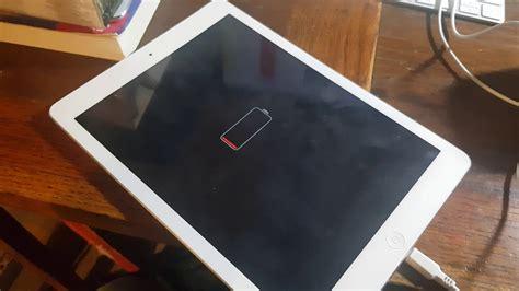 solved   fix turn  jumpstart apple ipad air dead