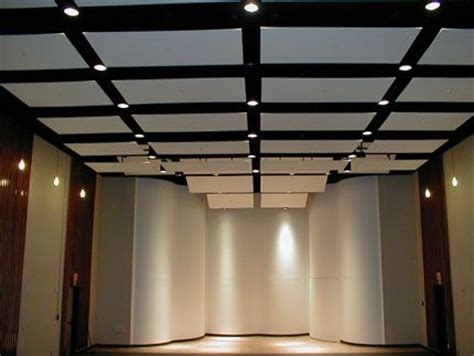 sound proofing ceiling panels performance space
