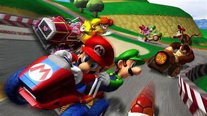 Kart Mario Dash Double Wallpapers Wii Backgrounds