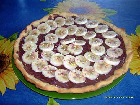 recette de pizza sucr 233 e nutella banane