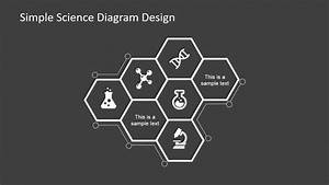 Simple Science Diagram Design For Powerpoint