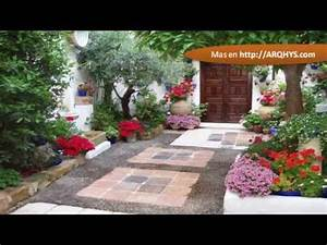 Decoracion de patios y jardines youtube for Decoracion patios y jardines