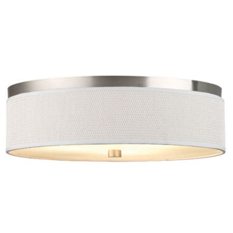20 1 2 inch flushmount drum shade ceiling light