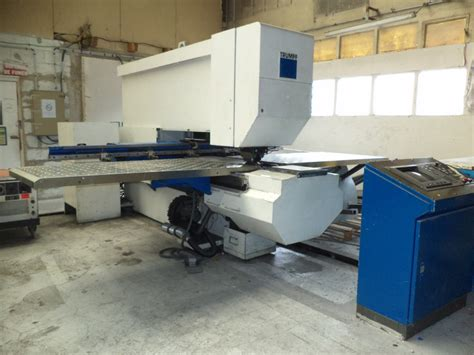 trumpf trumatic 240 cnc punching press used sheet metal
