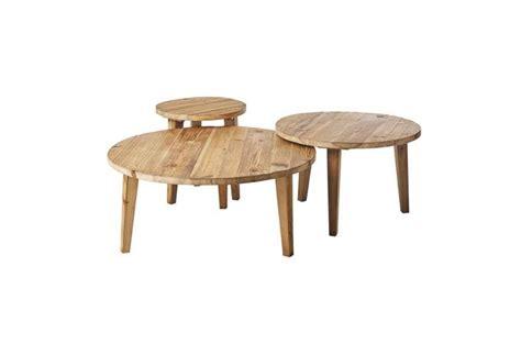 table basse gigogne bois massif neltura design sur sofactory