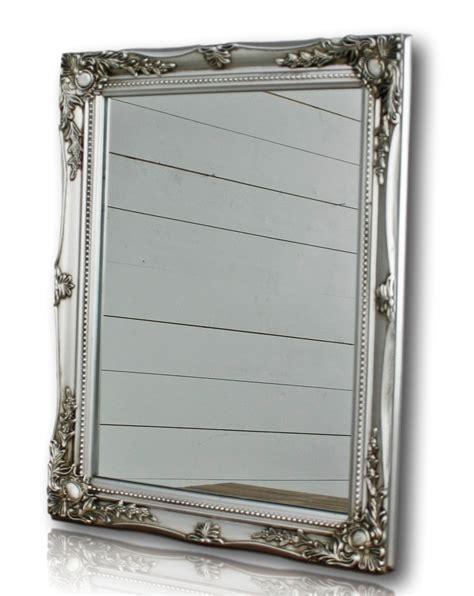 spiegel barock weiß spiegel wandspiegel silber barock holz badspiegel landhaus cottage holzrahmen ebay