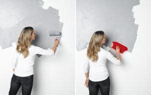 Wandgestaltung In Betonoptik