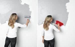 Raufaser Zum Streichen : wandgestaltung in betonoptik sch ner wohnen ~ Lizthompson.info Haus und Dekorationen