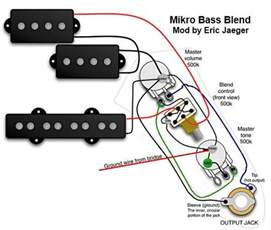 Bass Pickup Wiring Diagrams