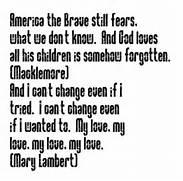 Same Love - song lyric...Love Songs