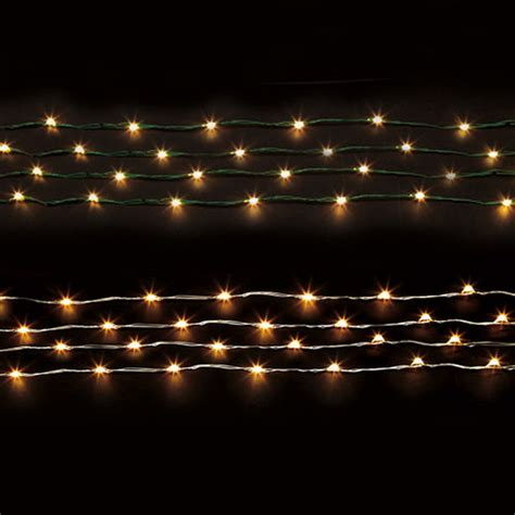 microlights cordless wire string lighting at brookstone