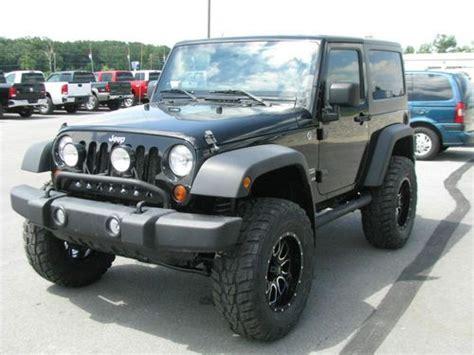 jeep wrangler grey 2 door purchase used lifted 2011 jeep wrangler sport 2 door 3 8l