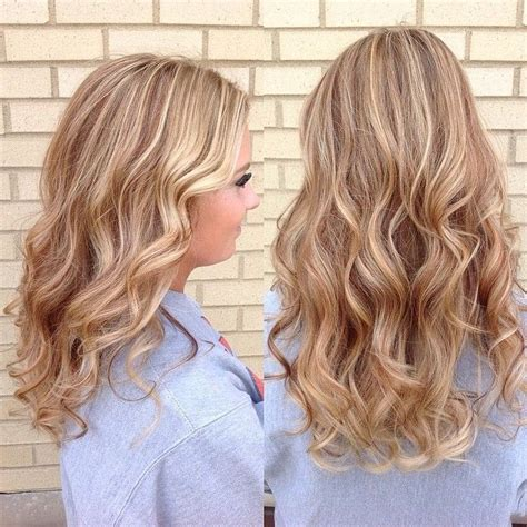 Golden Platinum Hair by Golden With Strawberry Lowlights And Platinum