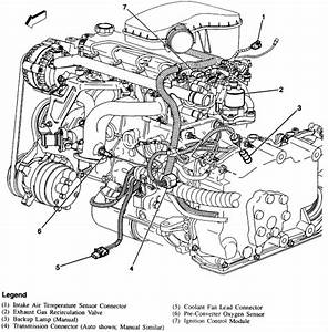 1997 Chevy Cavalier Engine Diagram