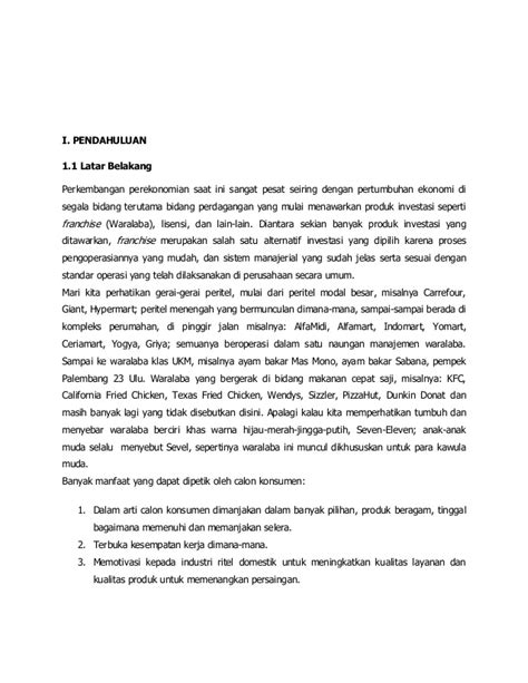 Jurnal manstra mc donald