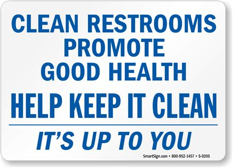 Printable Clean Bathroom Signs by Restroom Sign Clean Up After Yourself Just B Cause