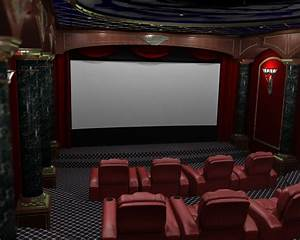 Render Reality – 3D Home Theater Renderings : Home Theater ...