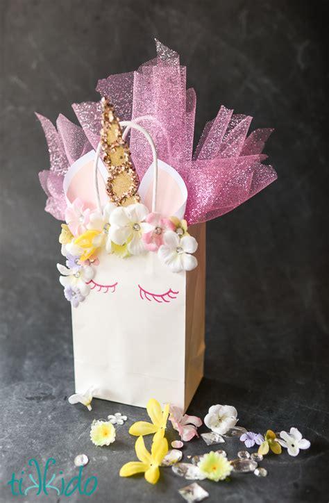 unicorn gift bag fun family crafts