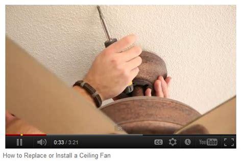 changing a ceiling fan diy replace a ceiling fan advon