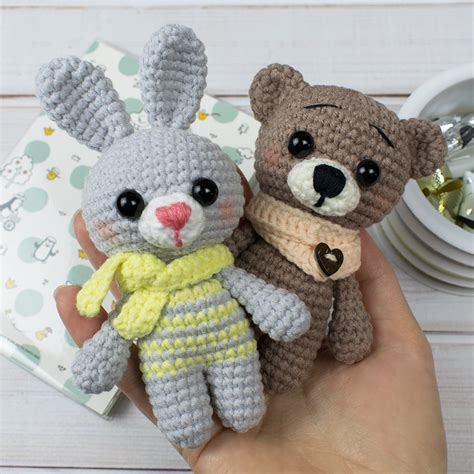 tiny crochet animal patterns amigurumi today