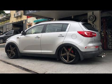 "Bb Garage Kia Sportage Aro 20"" E Suspensão A Ar Youtube"