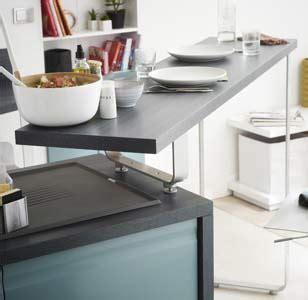 table roulante cuisine tout savoir sur l 39 aménagement d 39 une cuisine leroy